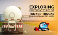 Exploring Different Types of Tanker Trucks For Your Transport Needs.