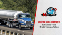 Why You Should Consider Bulk Liquid Food Grade Transportation