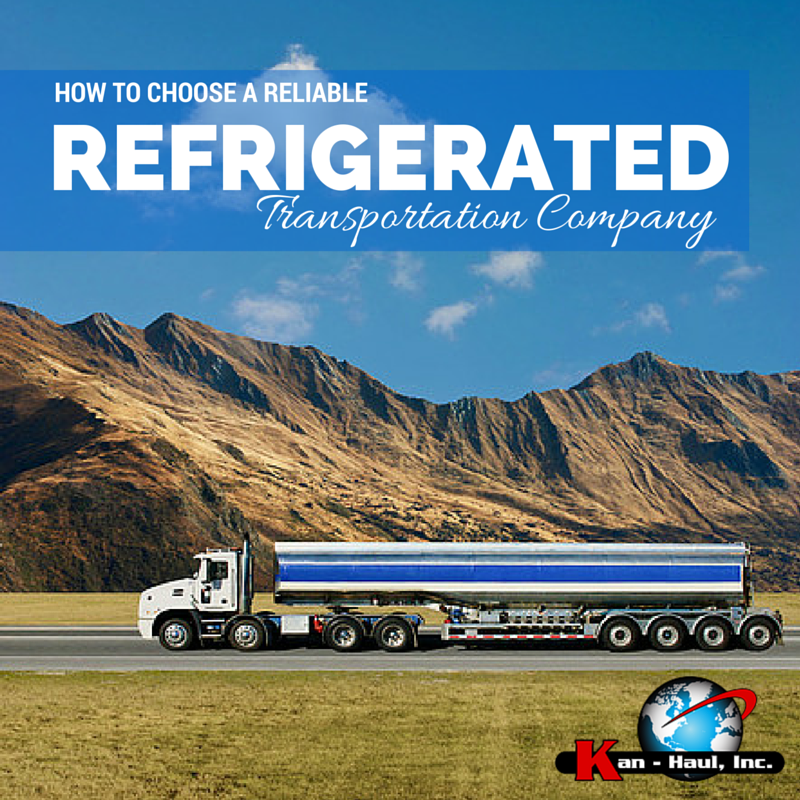 How to choose a reliable refrigerated transportation for Kosher cleaning requirements