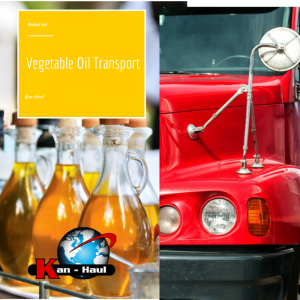 vegetable oil transport