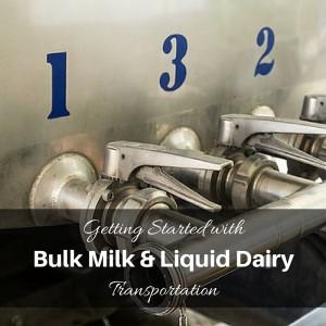 bulk milk transportation