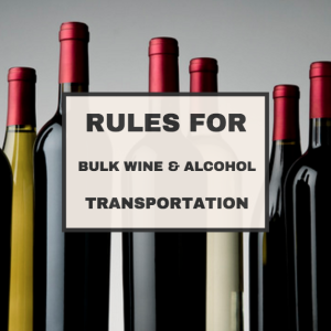 bulk wine transportation