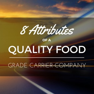 food grade carrier company