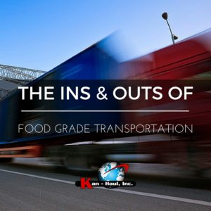 food grade transportation