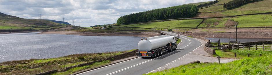 food grade liquid tanker for transportation.